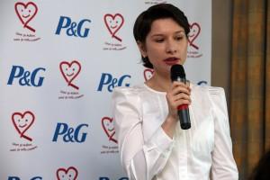 Оливия Чиботариу, мениджър външни връзки в Procter & Gamble