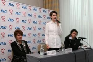 Оливия Чиботариу, Мениджър външни връзки Procter & Gamble